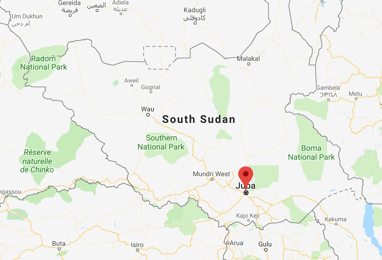 Political Map Of South Sudan.South Sudan Release Five Political Prisoners East Africa Monitor
